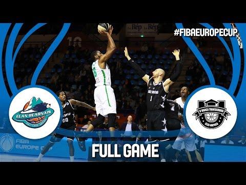 Pau-Lacq-Orthez (FRA) v U-BT Cluj Napoca (ROU) - Full Game - FIBA Europe Cup 2016/17