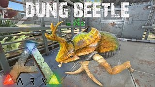 ARK Survival Evolved - The Amazing Dung Beetle!