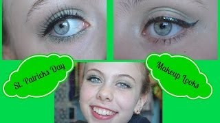 St. Patrick's Day Makeup Tutorial! Thumbnail