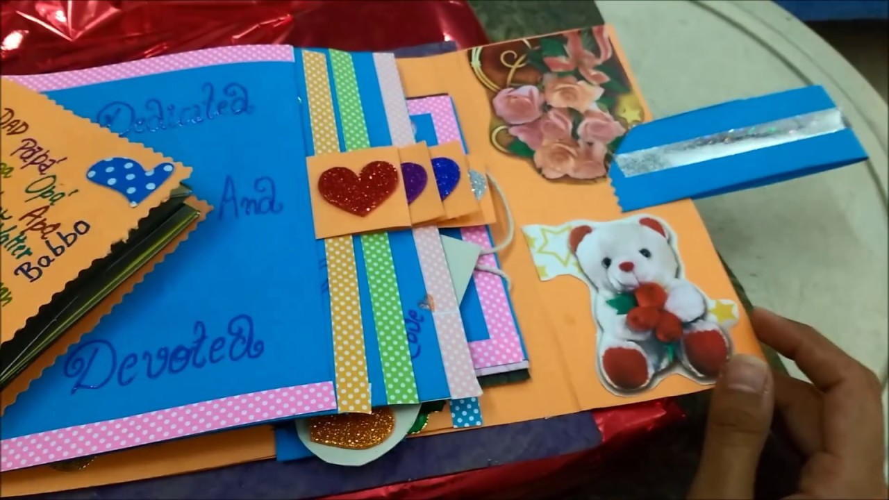 Best Hand Made Birthday Greeting Card For Father In Law Youtube