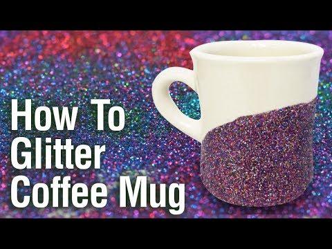 How to make a glittered mugYouTube