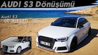 Audi Sedan S3 Dönüşümü // Suzuka Grey - Modifiye