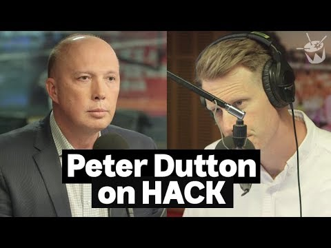 HACK: Peter Dutton joins Tom Tilley