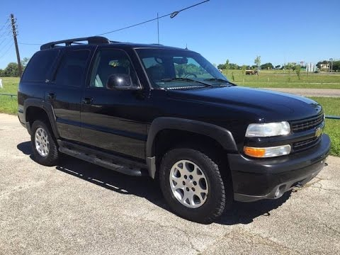 2002 Chevrolet Tahoe Z71 Review