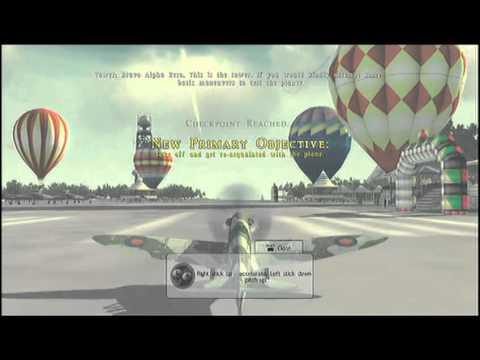 Blazing Angels 2:Secret Missions Of WWII- Walkthrough- Part 1