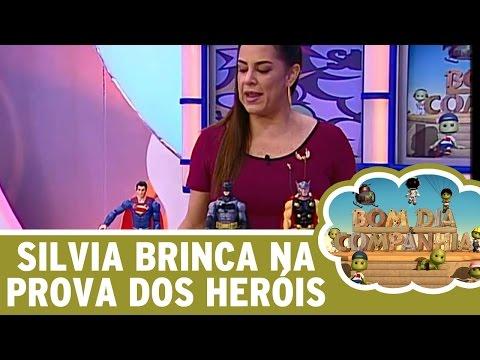 Bom Dia e Cia (03/06/16) - Silvia Abravanel brinca na Prova dos Heróis