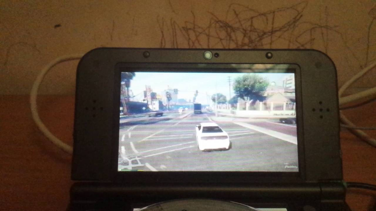 Gta 5 On The 3ds Youtube
