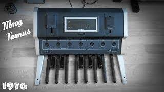 Moog Taurus Analog Bass Synthesizer  Pedals (1976)