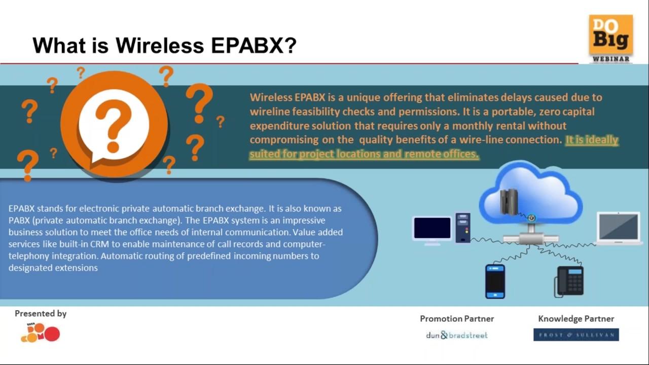 Do Big Webinar: Instant office communications through Wireless EPABX ...