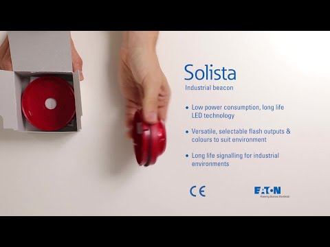 Unboxing the Solista industrial beacon, red lens edition