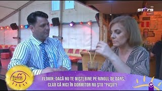 "Gabriela și Florin, dans cu ""scântei"""