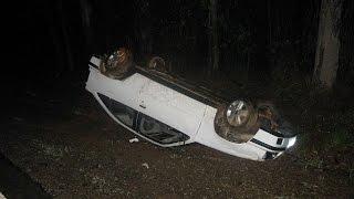 Capotamento deixa uma vítima fatal na BR 267 em Campanha, MG