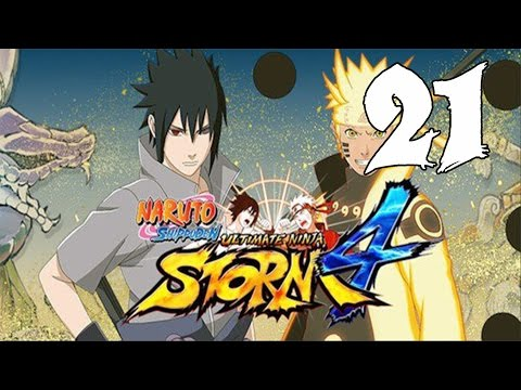 Naruto Ultimate Ninja Storm 4 - Walkthrough Part 21: Finale