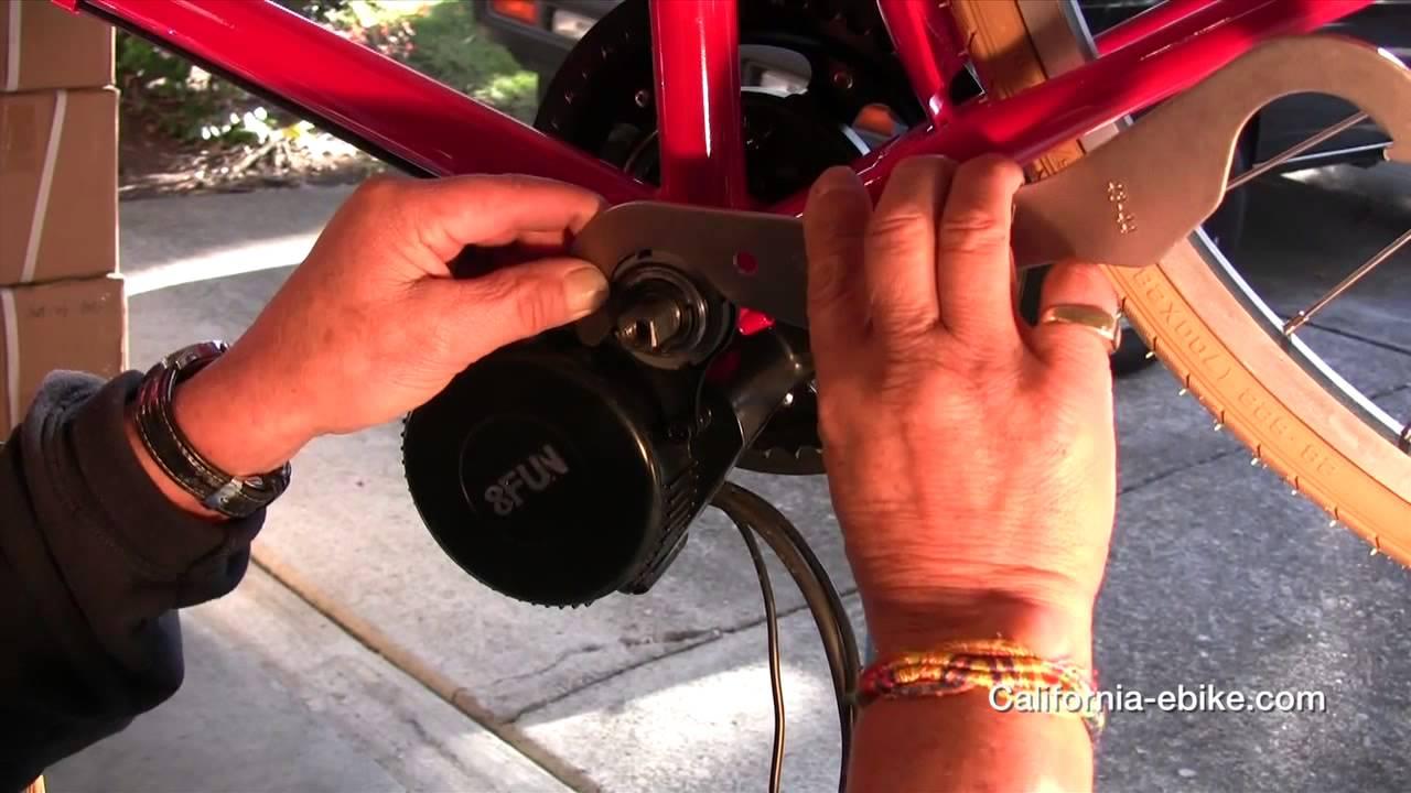 Bafang 8FUN Mid Drive Electric Bike Conversion Kit Installation ...