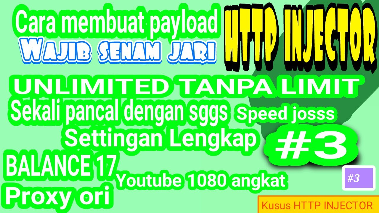 Membuat Payload Axis Hits Balance Unlimited All Tkp Youtube  Tanpa Sinyal