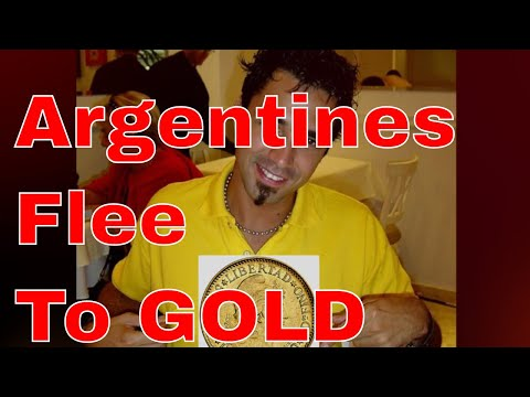 Argentines Flee To Gold.  Currency Failure And Its Effect On Gold Prices PLUS Gold Priced In Euros.