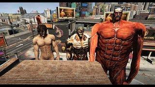 GTA 5 - Attack on titan - Eren trở thành titan như thế nào | GHTG
