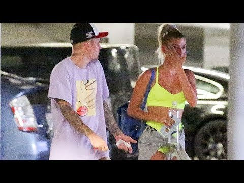Justin Bieber And Hailey Baldwin Get In A Heated Argument At Hot Yoga