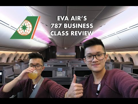 Flying EVA Air's BRAND NEW 787 Business Class | Actually Worth 5 Stars?