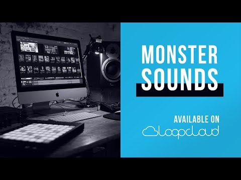 Monster Sounds now on Loopcloud | Acapella Vocal Trap Loops Samples Sounds