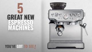Top 10 Breville Espresso Machines [2018]: Breville BES870XL Barista Express Espresso Machine