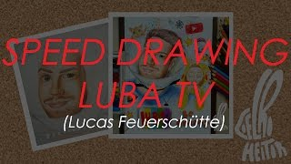 Speed Drawing LubaTV / By: Heitor Coelho /
