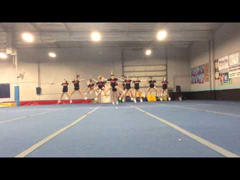 Saddleback Valley Christian Schools Varsity Cheer 2013-2014: qualification video