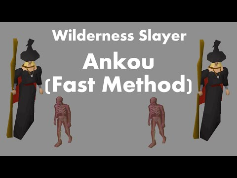 Wilderness Slayer - Ankou (Fastest Method)