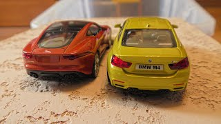 Toy Cars Going Down in Water Video for Kids