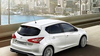 Тест-драйв.  Nissan Tiida 2. Новинки авто 2015-2016
