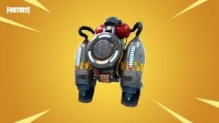First time getting the Jetpack in Fortnite