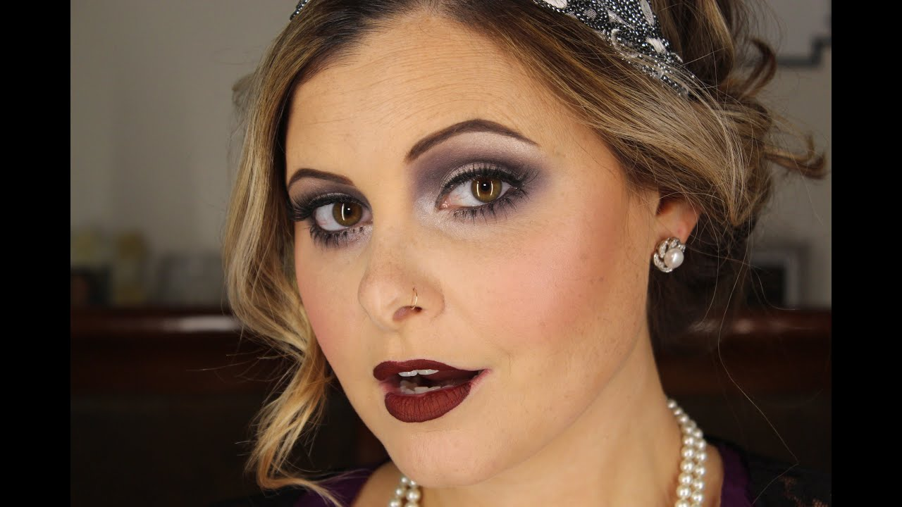 Flapper Tutorial Makeup