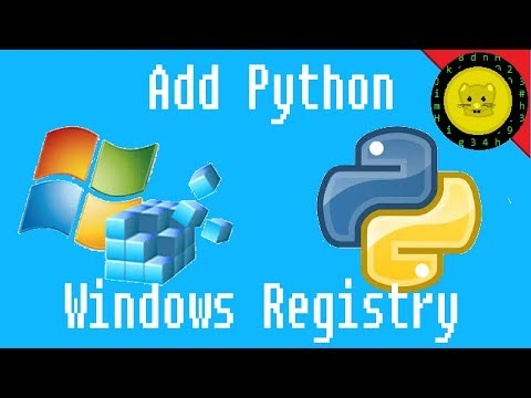 How to Add Python to Windows Registry Solved