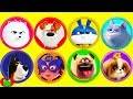 Secret Life of Pets 2 Play Doh Surprises Max and Captain Snowball