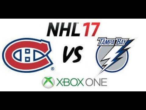 NHL 17 - Tampa Bay Lightning vs Montreal Canadiens - E.C. Quarterfinals Game 3