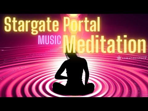 Stargate Portal Activation and Music Meditation: Lions Gate, DNA Activation, Portal of Divine Love