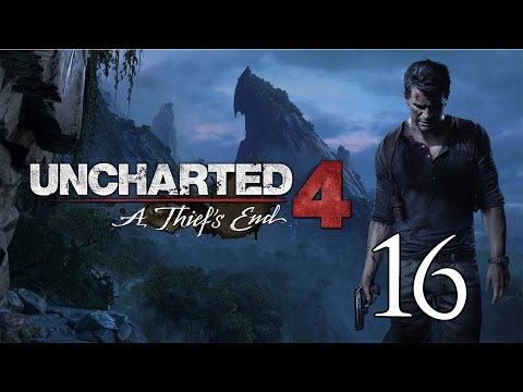 Uncharted 4 A Thief's End - Crushing Let's Play Part 16: Surprise Visit