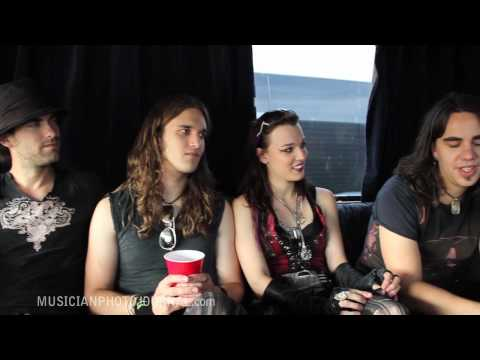 MPJ Interview - HALESTORM