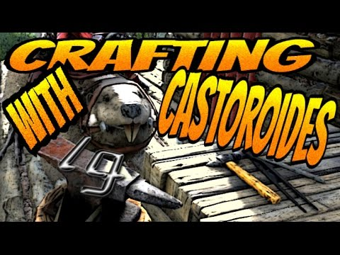 Ark survival evolved crafting with castoroides giant beaver youtube ark survival evolved crafting with castoroides giant beaver malvernweather