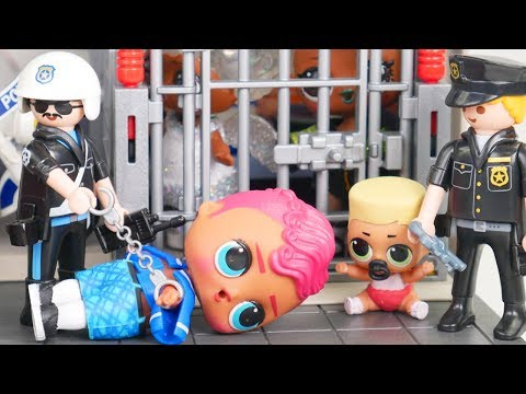 Big Sister OMG LOL Surprise Visit Jail in Winter Disco Ice Doll Video