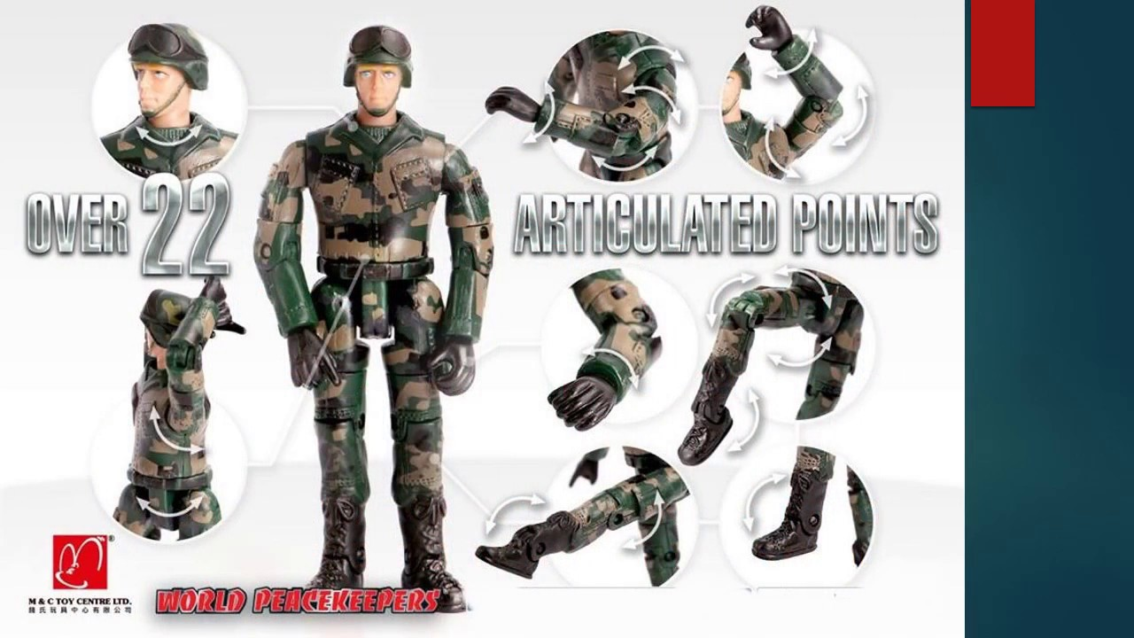 Mainan World Peacekeepers : Mainan Action Figure Tentara