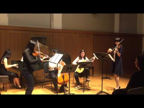 Penn Baroque Ensemble 2016 Spring Concert - Handel Sonata in A major, Op. 5 No. 1