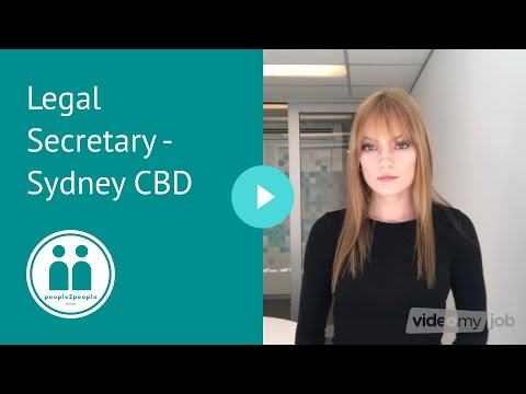 Legal Secretary Jobs - Sydney CBD