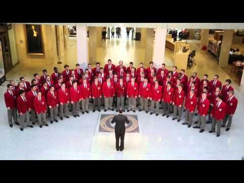 Ohio State Men's Glee Club Carmen Ohio in Dress Jackets, 2015