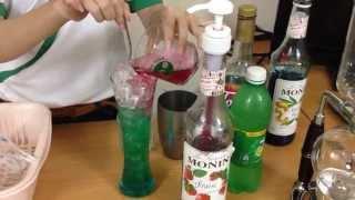 Công thức làm soda ý 3 tầng cực đẹp