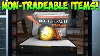CS GO - All Non-Tradeable Items!