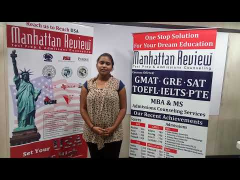 MS Admission Services - Manhattan Student Testimonial   Tejaswi