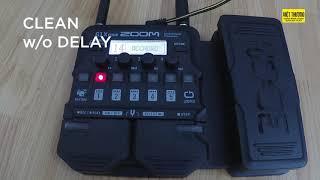 [guitarandgears.com] Demo Zoom G1X-Four