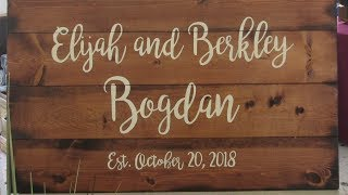 Berkley and Elijah Wedding Pix 10 20 2018