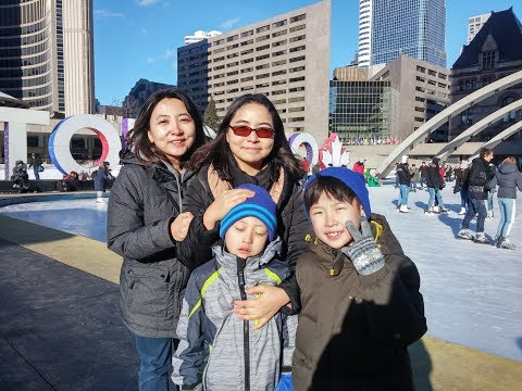 2018.02.02 Harbor front of Toronto with Yoon Family
